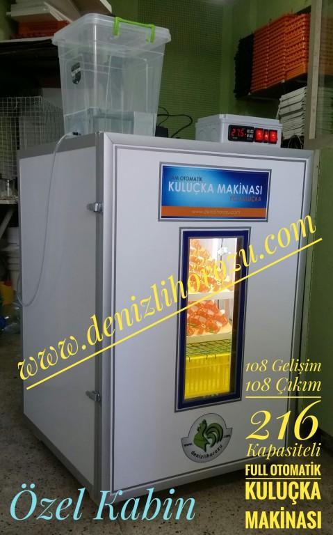 108 Gelişim + 108 Çıkım 216lık ÖZEL Full Otomatik Kuluçka Makinesi 17