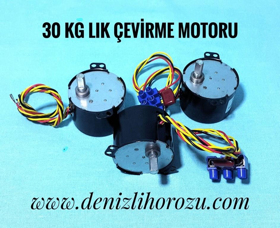 30 kg Çevirme Motoru 11