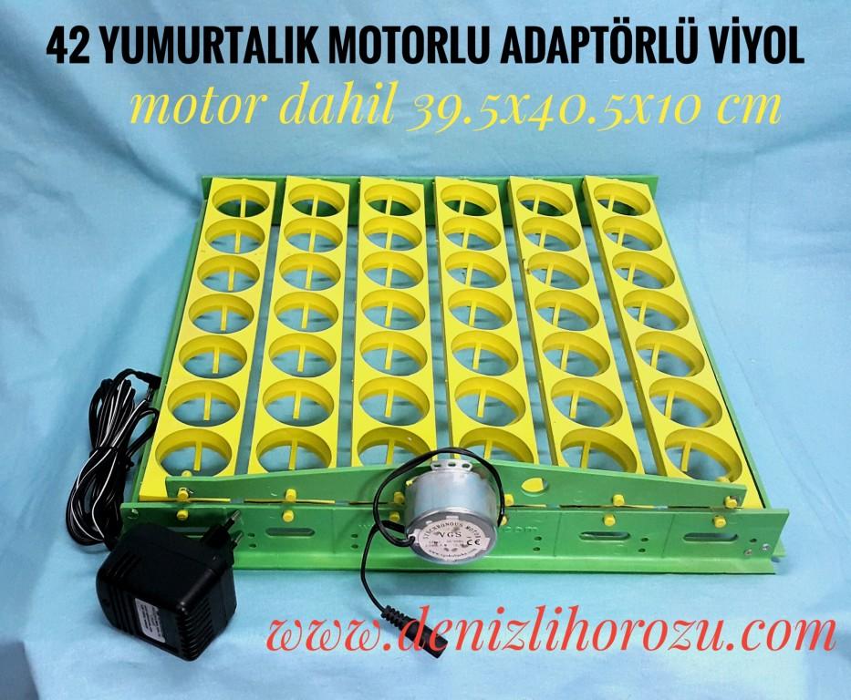42 Yumurtalık adaptörlü motorlu viyol