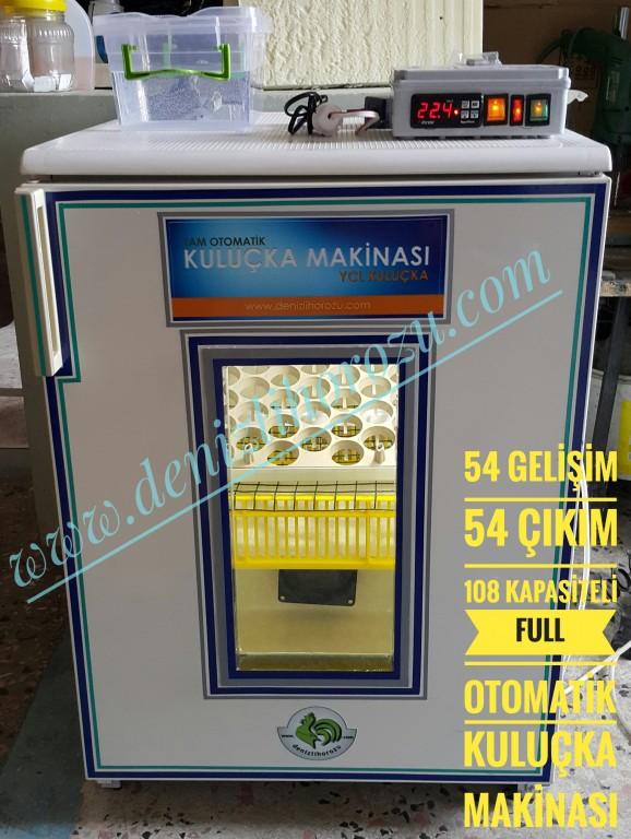 54 Gelişim + 54 Çıkım 108 lik Full Otomatik Kuluçka Makinesi 13