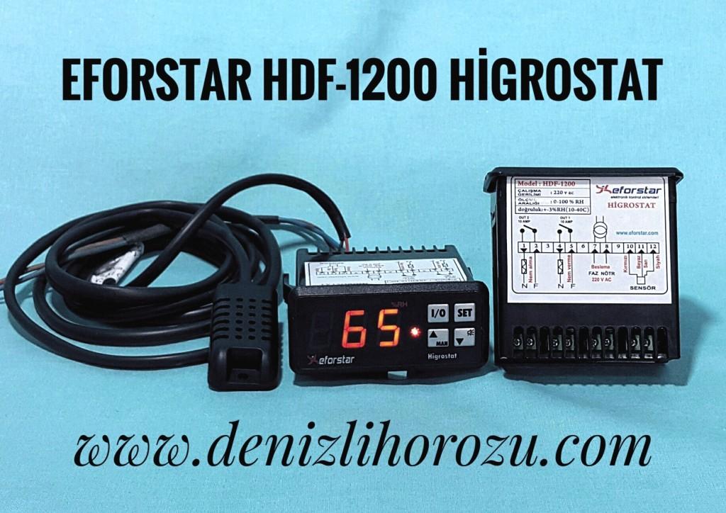 Eforstar Hdf-1200 Higrostat 06