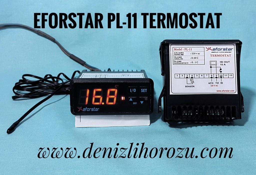 Eforstar Pl-11 Termostat  05