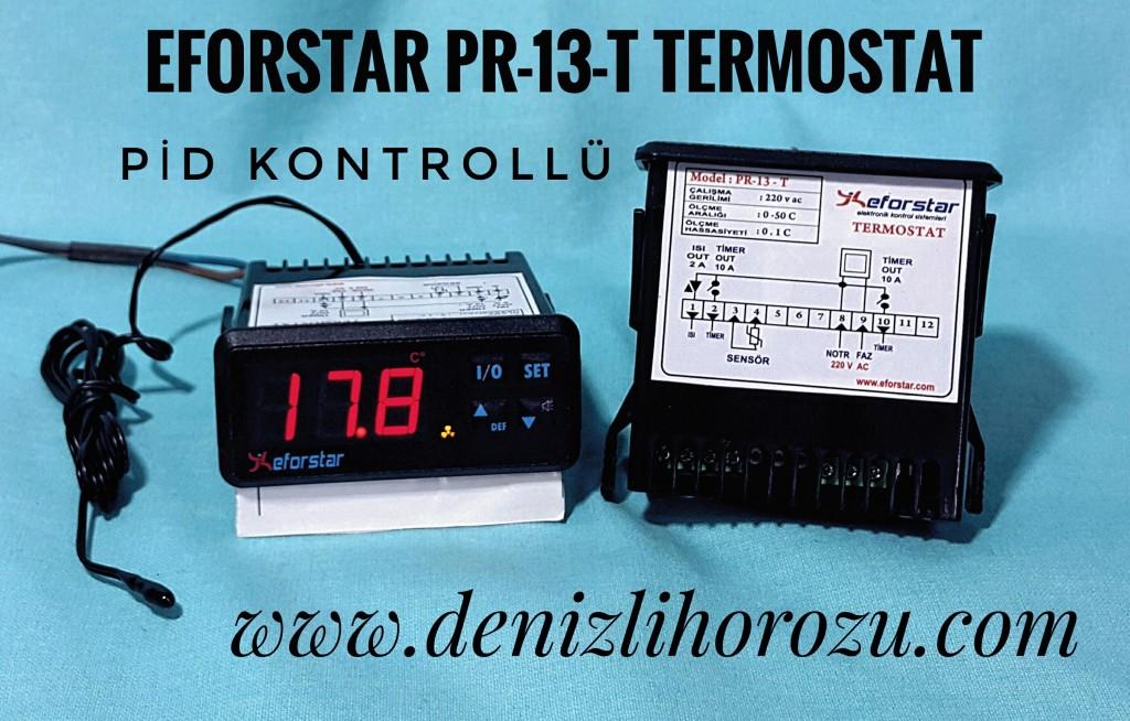 Eforstar Pr-13-t Pid Kontrollü Termostat 02