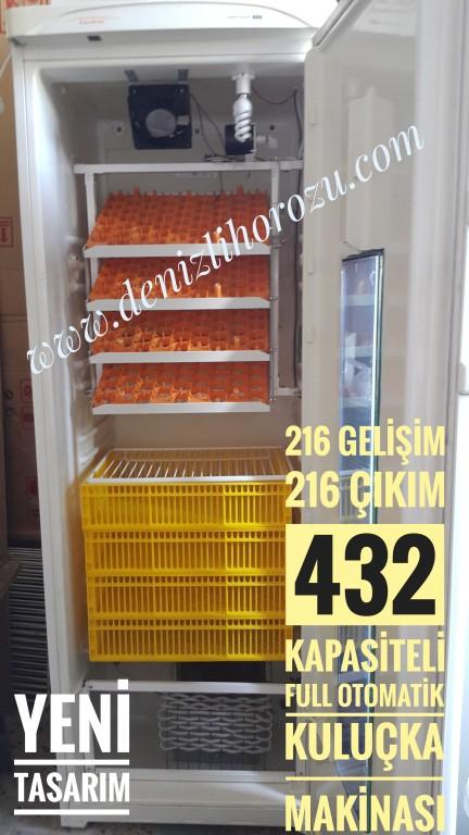 Full Otamatik 216 Gelişim + 216 Çıkım 432 kapasiteli Kuluçka Makinesi  03