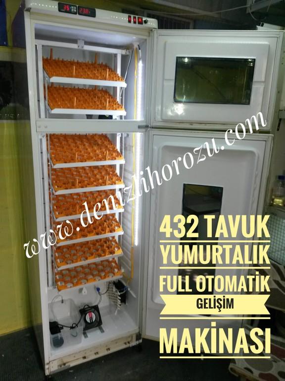 Full Otamatik 432 lik GELİŞİM Kuluçka Makinesi  07
